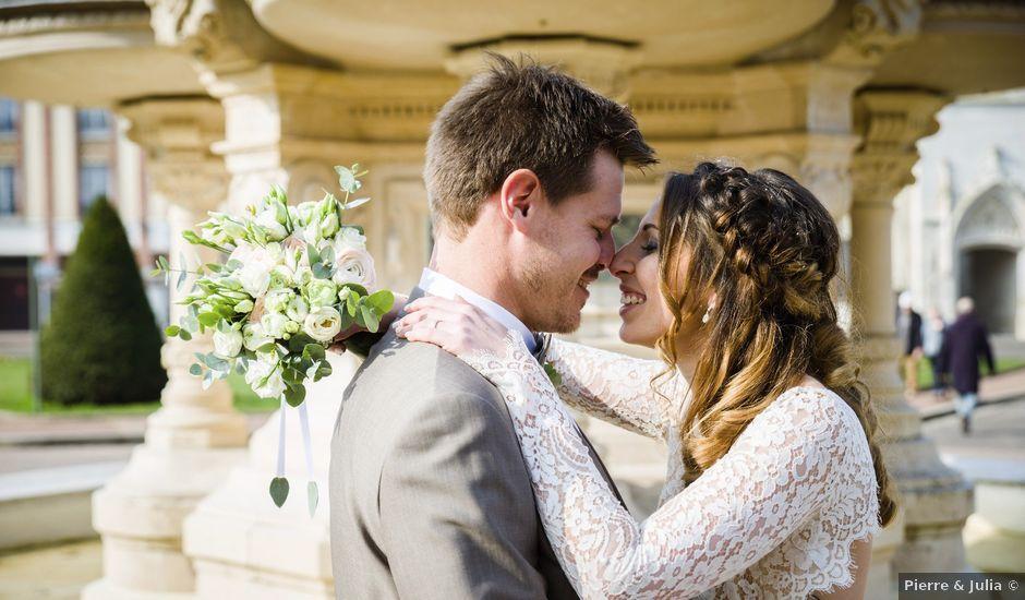 Le mariage de Julien et Julie à Évreux, Eure