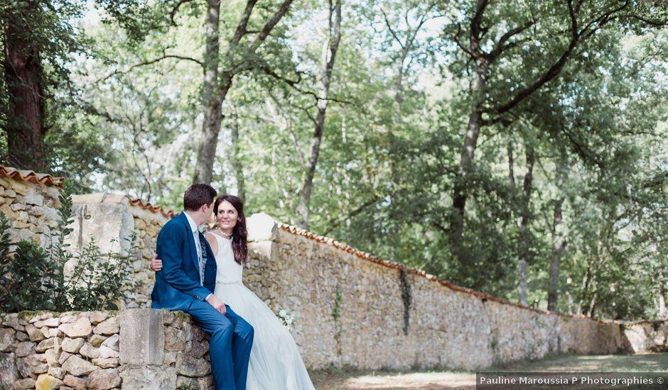 Le mariage de Richard et Amy à Bergerac, Dordogne