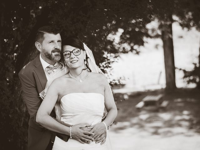 Le mariage de Bertrand et Gipsy à Vernon, Eure 20