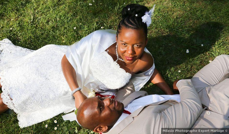 Le mariage de Anselme et Célia à Saint-Germain-lès-Corbeil, Essonne