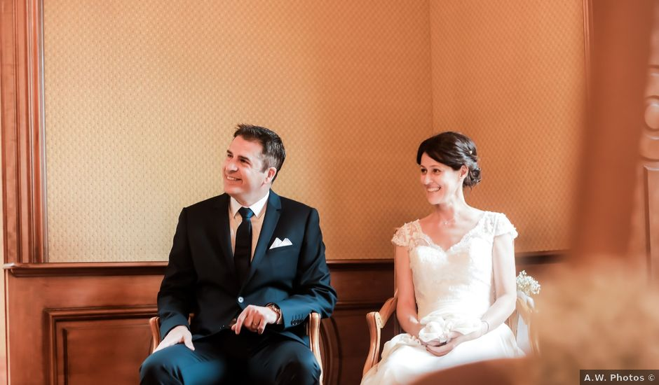 Le mariage de David et Nathalie à Urmatt, Bas Rhin