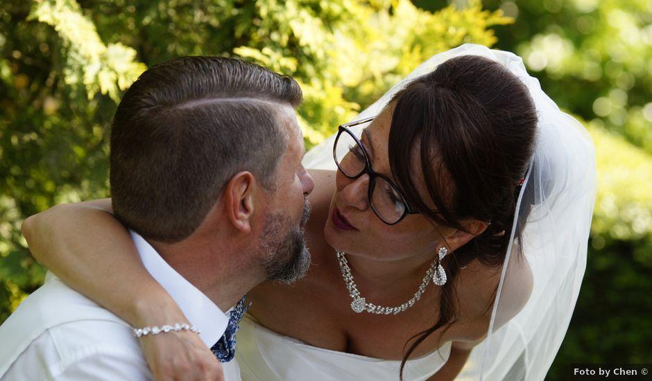 Le mariage de Bertrand et Gipsy à Vernon, Eure