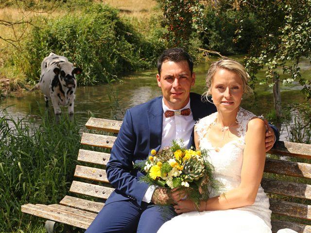 Le mariage de Fabien et Vanessa à Ouézy, Calvados 5