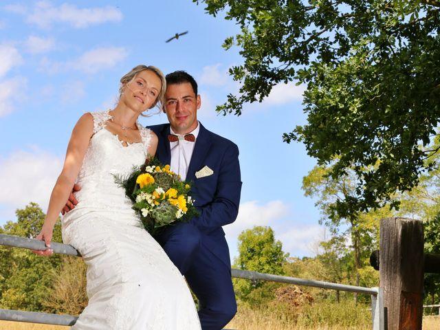 Le mariage de Fabien et Vanessa à Ouézy, Calvados 6