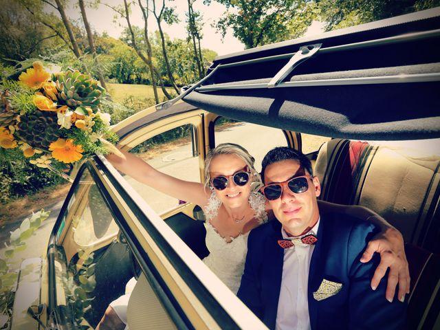 Le mariage de Fabien et Vanessa à Ouézy, Calvados 1