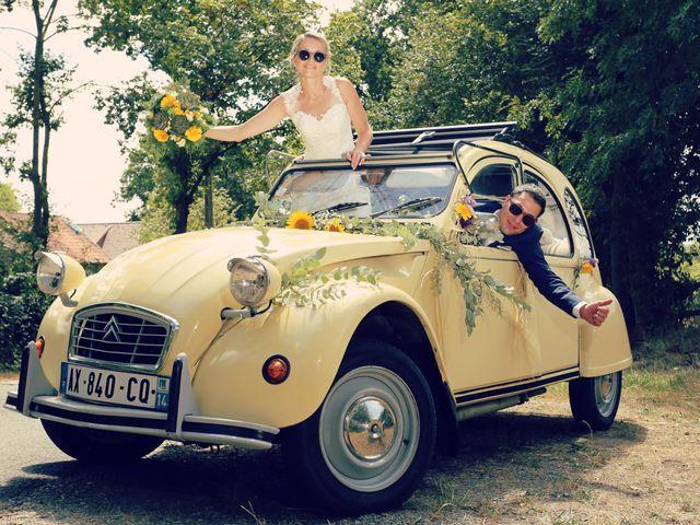 Le mariage de Fabien et Vanessa à Ouézy, Calvados 7