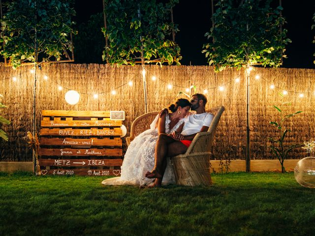 Le mariage de Jenna et Mathieu