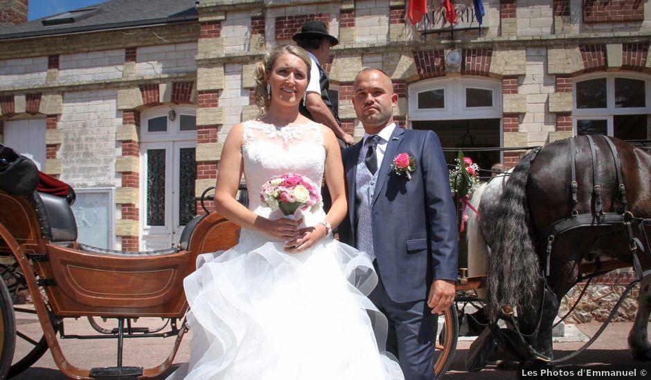 Le mariage de Julien et Aurélie à Muids, Eure