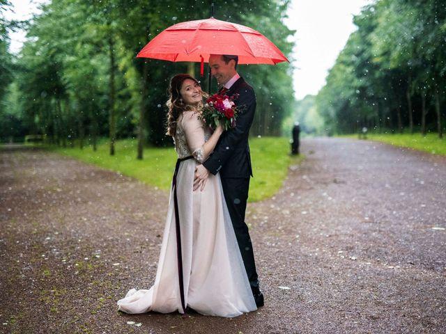 Le mariage de Iulia et Olivier