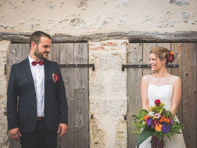 Le mariage de Maxime et Lucile à Pernay, Indre-et-Loire 17
