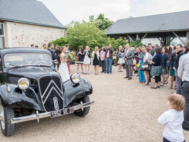 Le mariage de Maxime et Lucile à Pernay, Indre-et-Loire 33