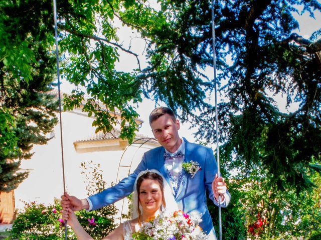 Le mariage de Mathieu et Julie à Miélan, Gers 14