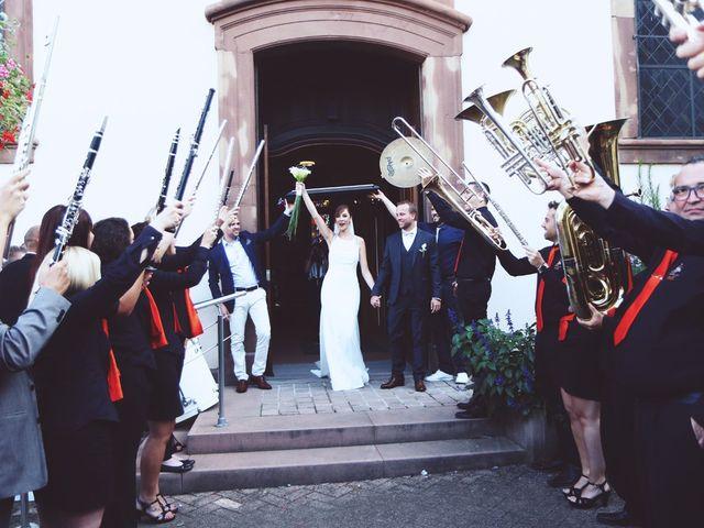 Le mariage de Benjamin et Laura à Gries, Bas Rhin 10