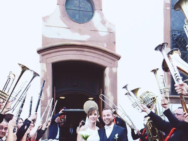Le mariage de Benjamin et Laura à Gries, Bas Rhin 12