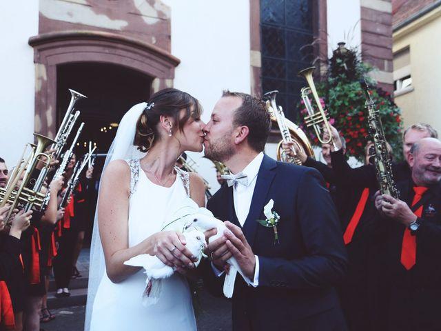 Le mariage de Benjamin et Laura à Gries, Bas Rhin 13