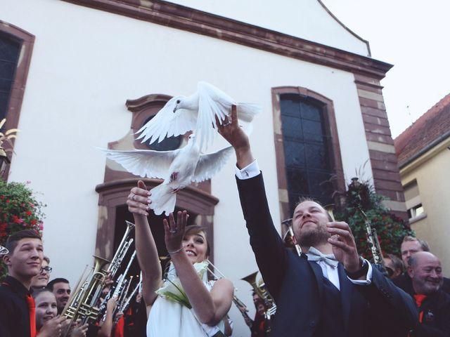 Le mariage de Benjamin et Laura à Gries, Bas Rhin 14