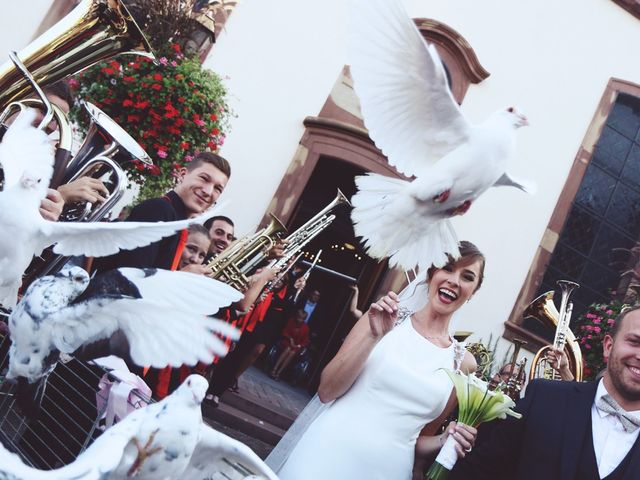 Le mariage de Benjamin et Laura à Gries, Bas Rhin 15