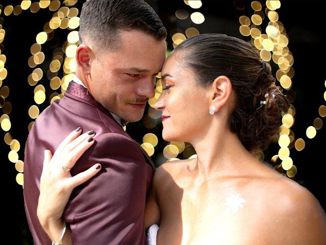 Le mariage de Valentin et Stéphanie à Alzon, Gard 11