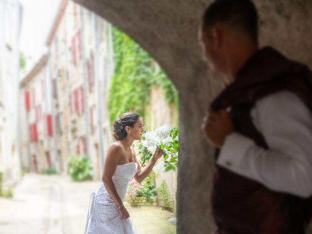 Le mariage de Valentin et Stéphanie à Alzon, Gard 16