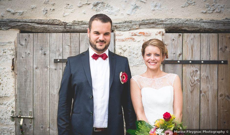 Le mariage de Maxime et Lucile à Pernay, Indre-et-Loire