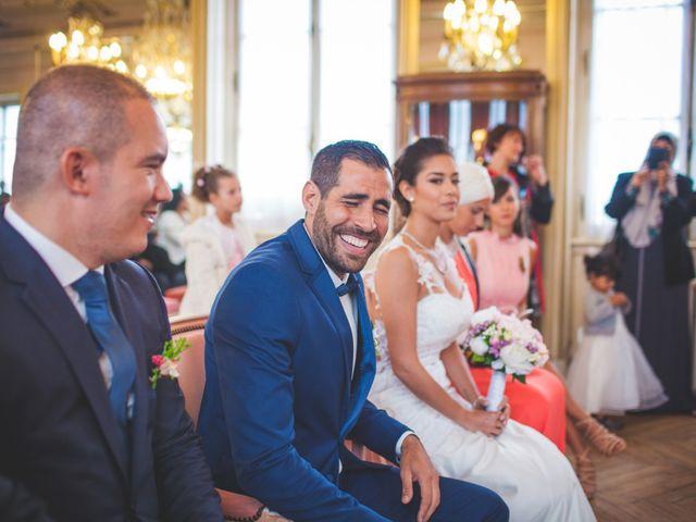 Le mariage de Sammy et Jihanne à Paris, Paris 7