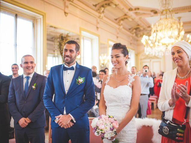 Le mariage de Sammy et Jihanne à Paris, Paris 8
