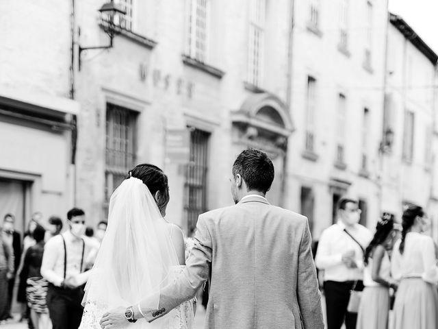 Le mariage de Romain et Alissa à Villeneuve-les-Avignon, Gard 10