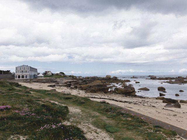 Le mariage de François et Anne-Aël à Brignogan-Plage, Finistère 1