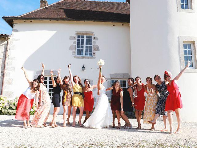 Le mariage de Julien et Marie-Caroline à Blond, Haute-Vienne 64