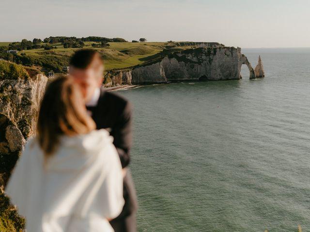 Le mariage de Victor et Marion à Conteville, Calvados 4