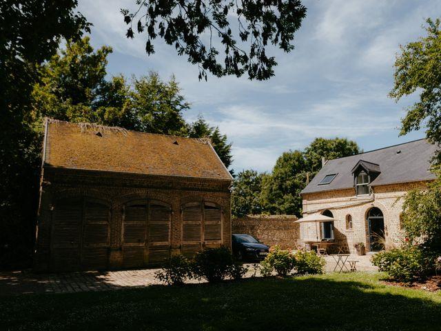 Le mariage de Victor et Marion à Conteville, Calvados 7