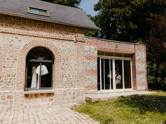 Le mariage de Victor et Marion à Conteville, Calvados 8