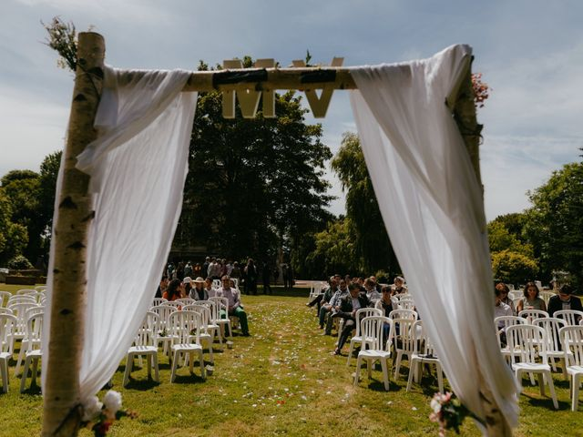 Le mariage de Victor et Marion à Conteville, Calvados 13