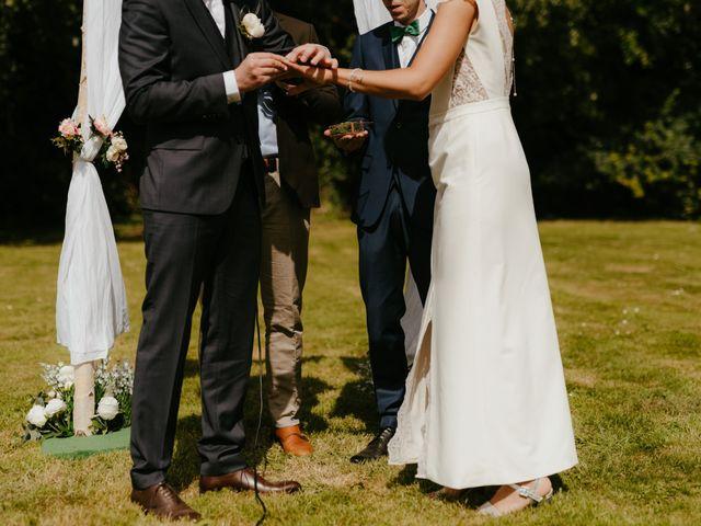 Le mariage de Victor et Marion à Conteville, Calvados 24
