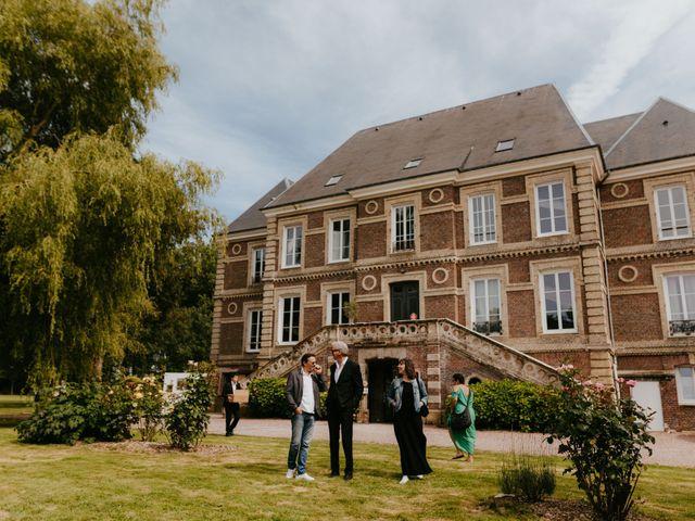 Le mariage de Victor et Marion à Conteville, Calvados 30