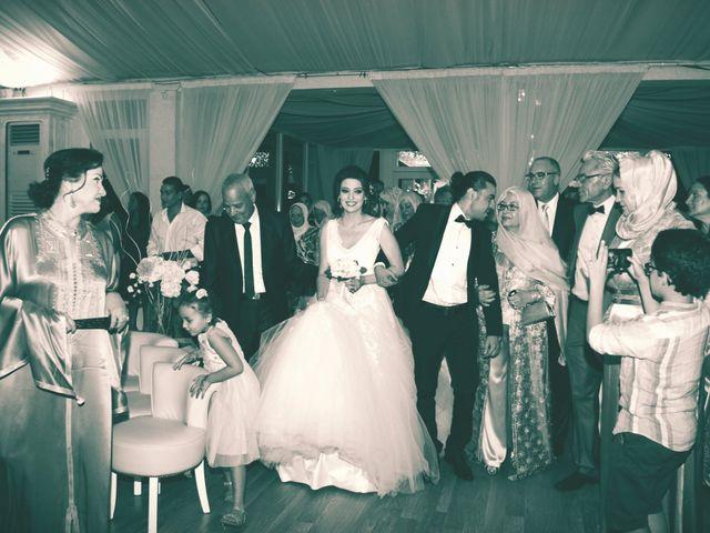 Le mariage de Zaher et Ines à Paris, Paris 11