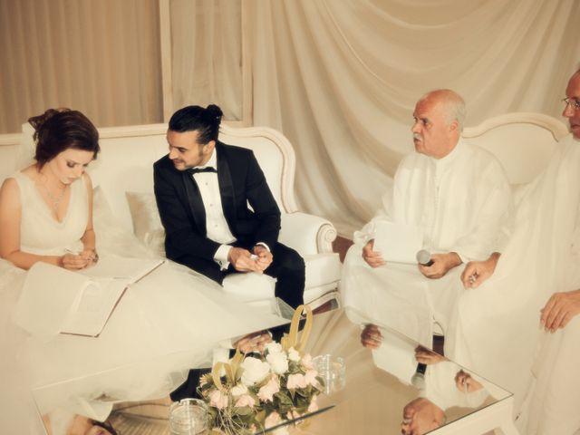 Le mariage de Zaher et Ines à Paris, Paris 16