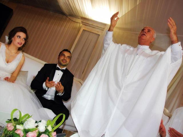Le mariage de Zaher et Ines à Paris, Paris 19