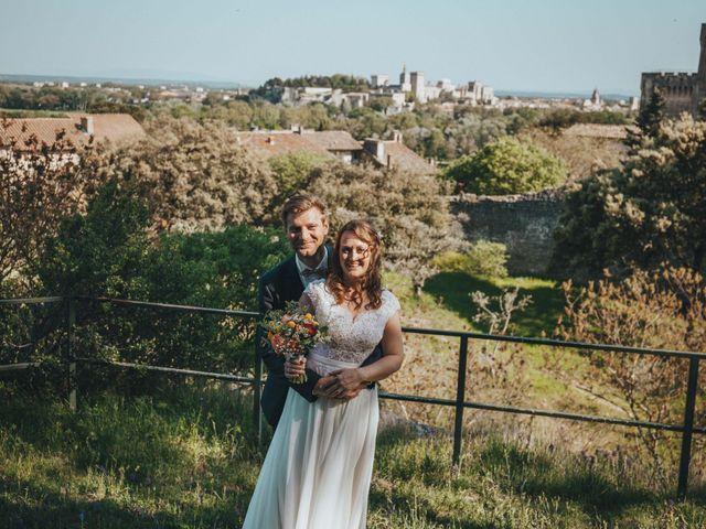 Le mariage de Nicolas et Célia à Villeneuve-les-Avignon, Gard 64