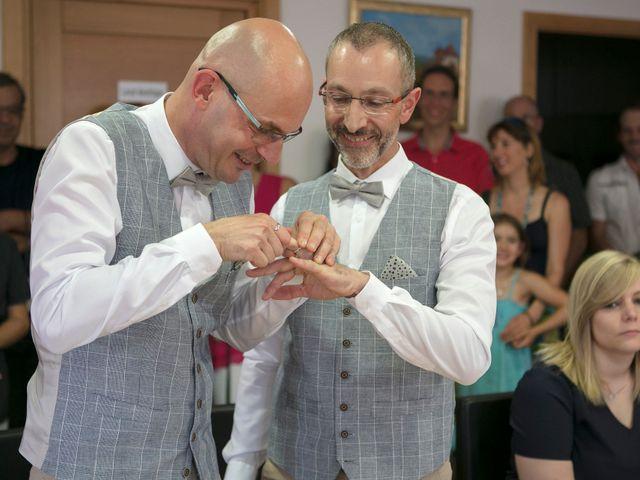 Le mariage de Laurent et Laurent à Neuve-Église, Bas Rhin 20