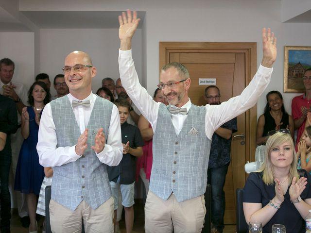 Le mariage de Laurent et Laurent à Neuve-Église, Bas Rhin 23