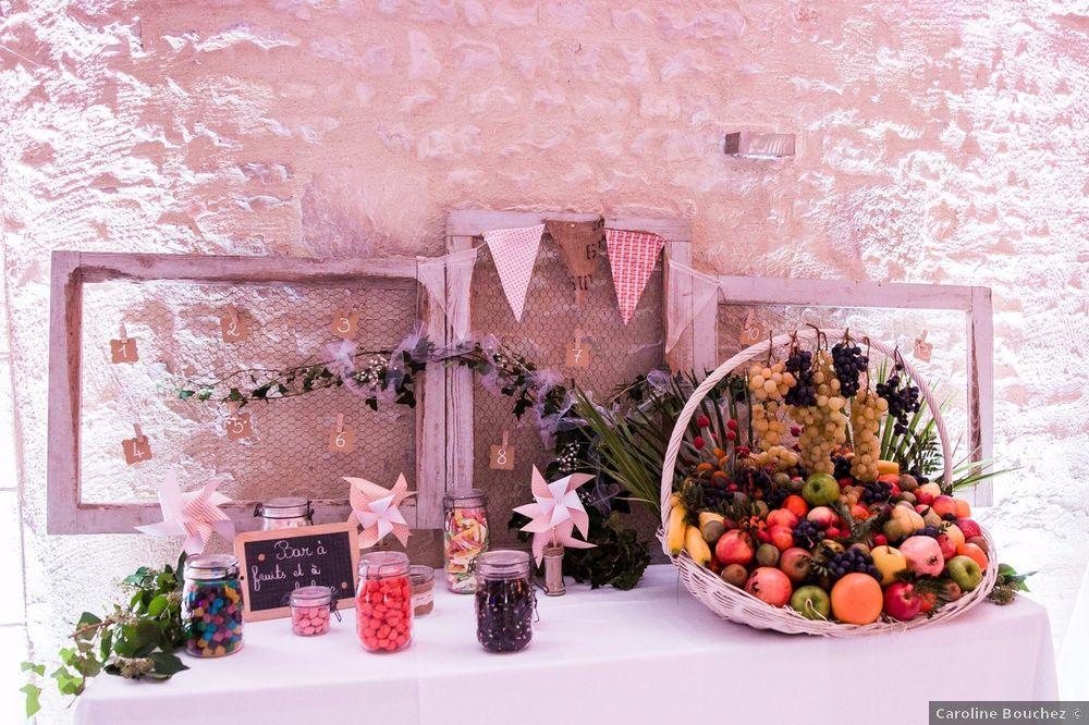 4 mariages pour 1 lune de miel : le buffet 1