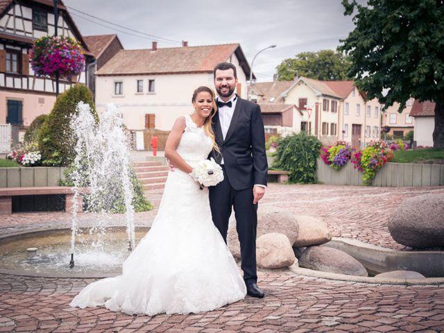 Le mariage de Sébastien et Ness à Gerstheim, Bas Rhin 52