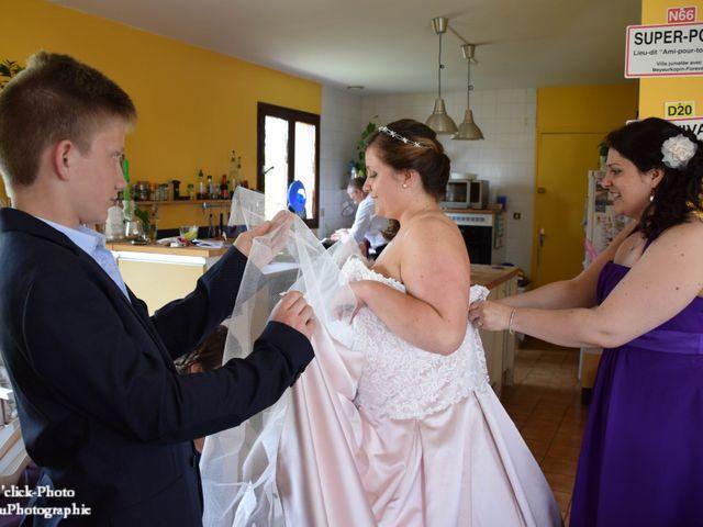 Le mariage de Romain et Coralie à Créhen, Côtes d'Armor 13