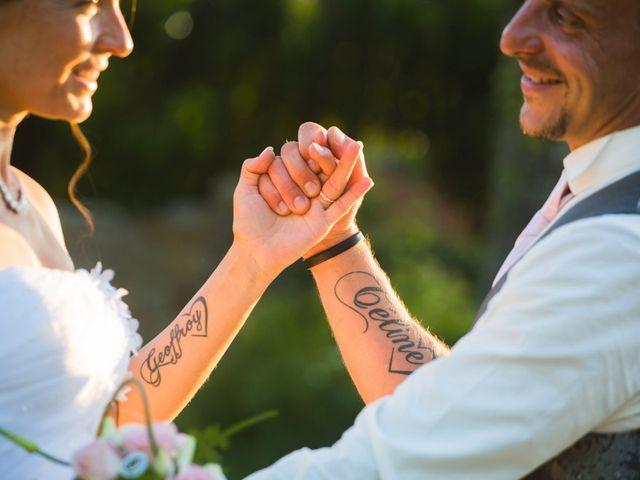 Le mariage de Geoffroy et Céline à Draillant, Haute-Savoie 2