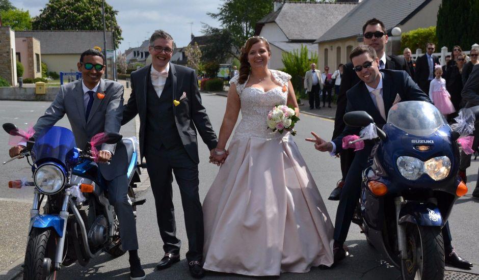 Le mariage de Romain et Coralie à Créhen, Côtes d'Armor