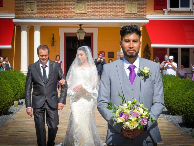 Le mariage de Roche-thynn et Lucie à Vonnas, Ain 7