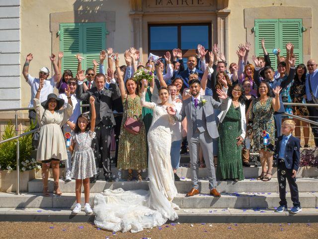 Le mariage de Roche-thynn et Lucie à Vonnas, Ain 12