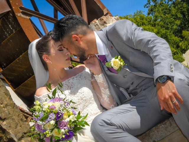 Le mariage de Roche-thynn et Lucie à Vonnas, Ain 13