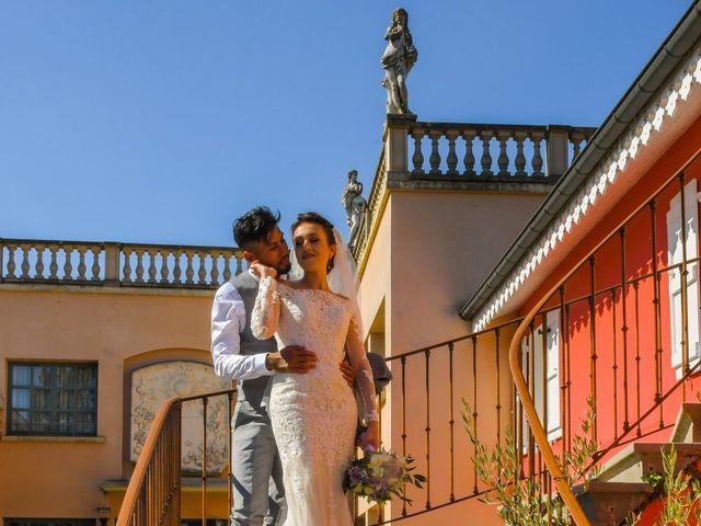 Le mariage de Roche-thynn et Lucie à Vonnas, Ain 15